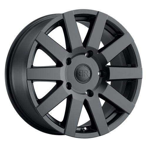 BLACK RHINO JOURNEY MATTE BLACK 5/130 for Maxi chassis